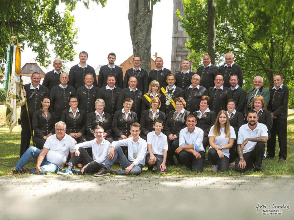 Schützenverein Kleingera Gruppenfoto